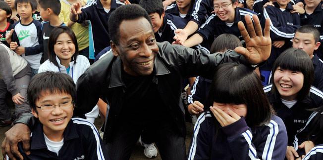 """Pele: """"Xavi gibi olmak isterdim"""""""