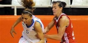 Mersin B�y�k�ehir Belediyesi: 63 - Samsun Basketbol: 72