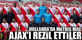 Ajax'� rezil ettiler!