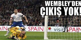 Wembley'den çıkış yok!