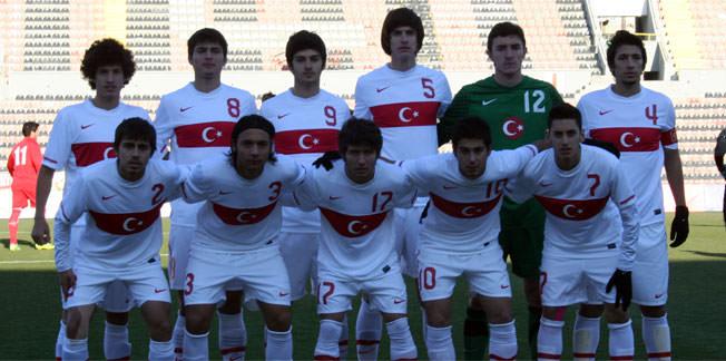 U19'lar Gürcistan'ı geçemedi