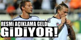 Beşiktaş resmen açıkladı: Guti gidiyor!