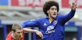Fellaini 2016'ya kadar Everton'da