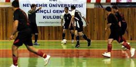 Nevşehir'de futsal rüzgarı