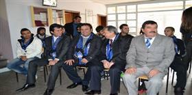 Başkan Ziya Eren'den Hisarlık'a okul sözü