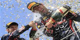 Vettel resmen şampiyon