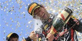 Son yarış Webber'in