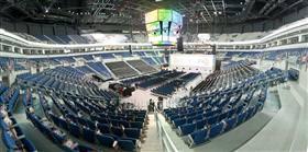 Ülker Sports Arena'nın tanıtım çekimleri yapıldı