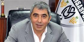 Manisaspor Başkanı Yaralı'ya teşekkür belgesi