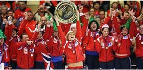 Hentbolde şampiyon Norveç