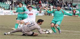 Konya Şeker, tek golle 3 puanı kaptı