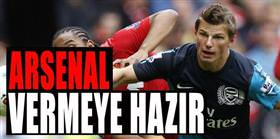 Arsenal vermeye hazır