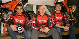 Türk ekibi Arjantin'e gitti