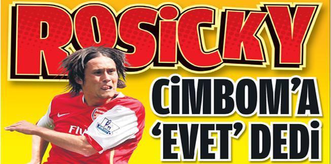 Tomas Rosicky Galatasaray'a Geliyor