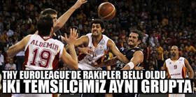 İki Türk takımı aynı grupta!