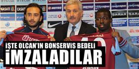 Olcan ve Jebrin resmen Trabzonspor'da