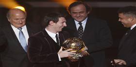 Altın Top yine Messi'nin