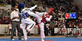 Antalya'da tekvando şampiyonası