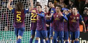 Barça zirvede