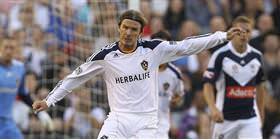 Beckham, Los Angeles Galaxy'de kald�