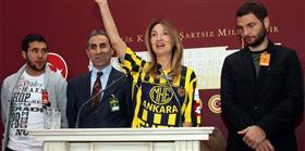 Ankaragücü'ne bir maaşını bağışladı