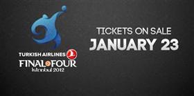 Final Four biletleri satışa çıkıyor