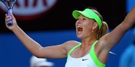 Finalin adı: Azarenka - Sharapova