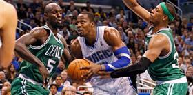Magic'in g�c� Celtics'e yetmiyor