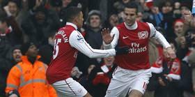 Arsenal dağıttı
