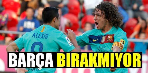 Barça bırakmıyor