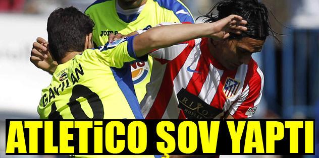 Atletico şov yaptı