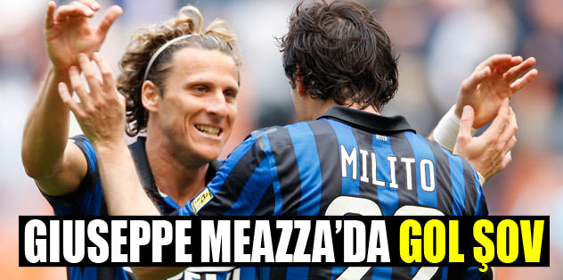 Giuseppe Meazza'da gol şov