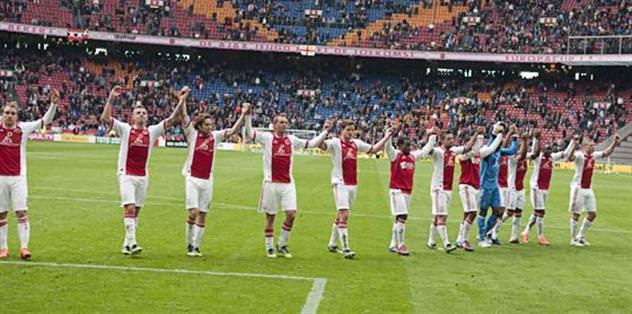 Yeni lider Ajax