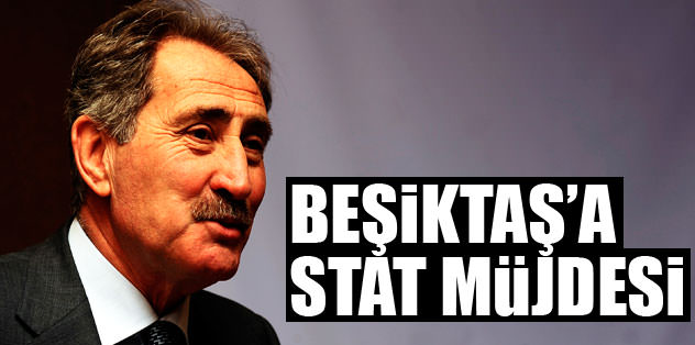 Beşiktaş'a stat müjdesi