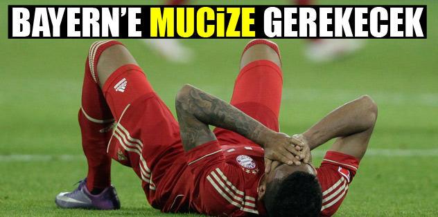 Bayern'e mucize gerekecek