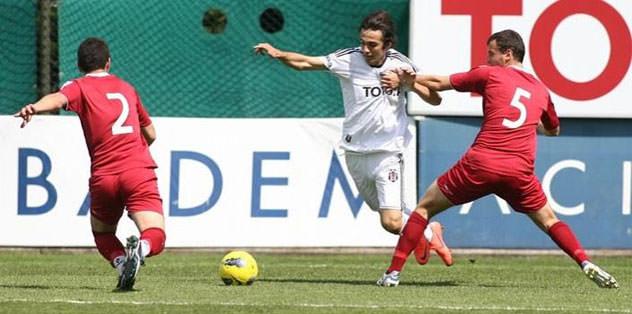Rize'yi üç golle yendi