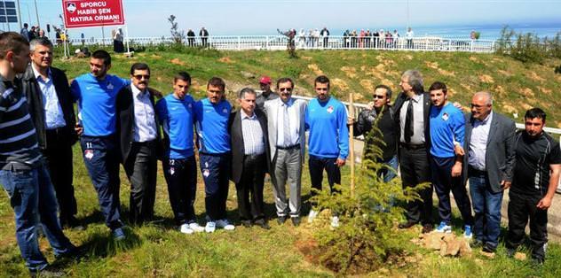 Habib Şen adına hatıra ormanı