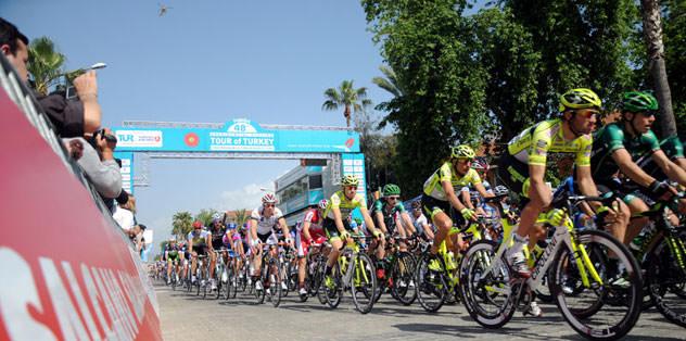 48. Cumhurbaşkanlığı Bisiklet Turu başladı