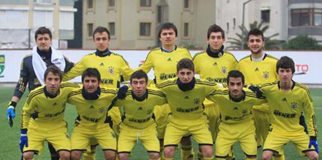 U18'ler berabere: 2-2
