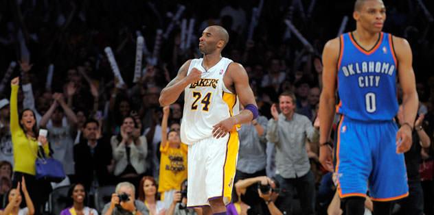 Lakers Thunder'ı uzatmada yıktı