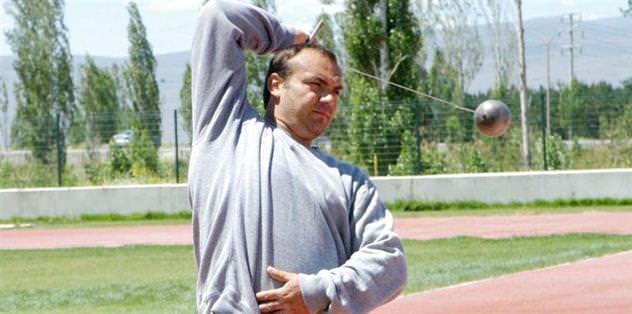 Eşref Apak olimpiyatlara hazırlanıyor