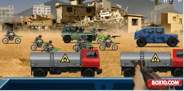 Warzone Getaway