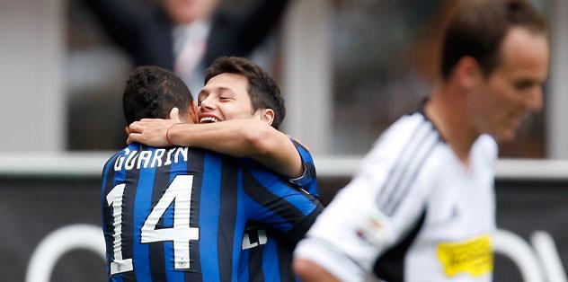 Inter evinde zorlandı
