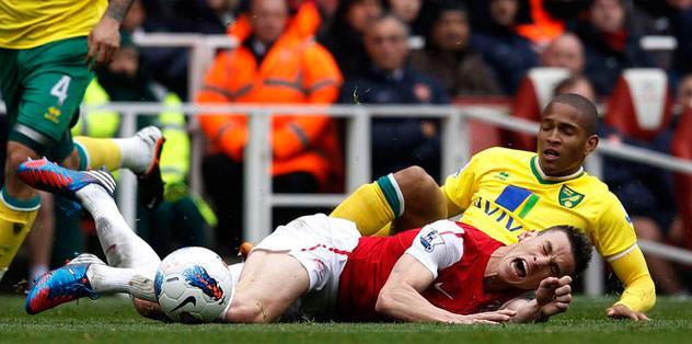 Arsenal zora soktu