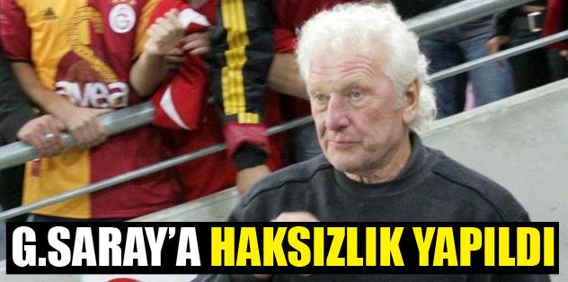 """""""Galatasaray'a haksızlık yapıldı"""""""