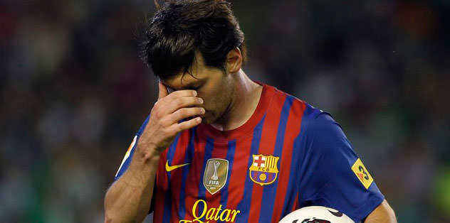 Barça kötü bitirdi