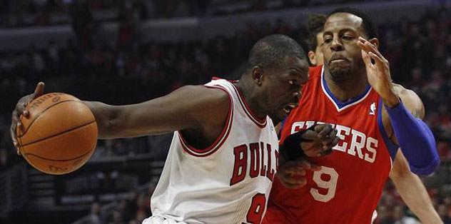 Philadelphia 76'ers Bulls'u eledi: 79-78