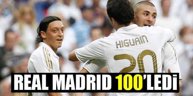 Real Madrid 100'ledi