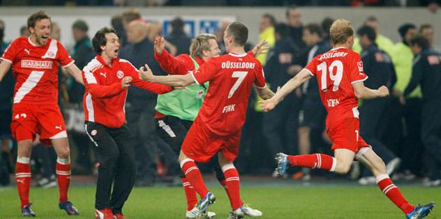 Fortuna Düsseldorf, Bundesliga'ya