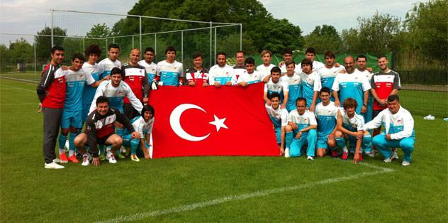 U19 Milliler Yunanistan'a yenildi